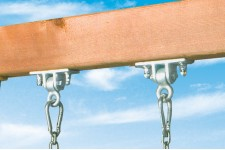 IRON DUCTILE SWING HANGERS PAIR
